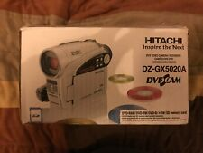 Hitachi UltraVision Dzgx5020A Dvd Camcorder - Open box, Working