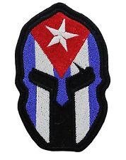 SPARTAN CUBAN FLAG BIKER MC PATCH
