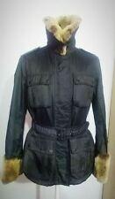 BELSTAFF giubbino giacca pelliccia motorcycle jacket coat jacke chaqueta jaquet