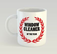 Window Cleaner Of The Year Funny Mug Gift Novelty Humour Birthday Cleaning