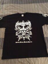NEKKROFUKK Satan.Urine.Blood Shirt XL, Azarath, The Chasm, Inquisition, Urgehal