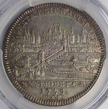 Regensburg 1775 City View Silver Half Thaler PCGS MS62