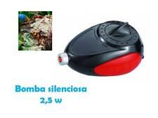 Pompa per aria per acquario silenzioso 2'5 w