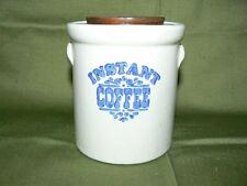 Pfaltzgraff Yorktowne Instant Coffee Crock