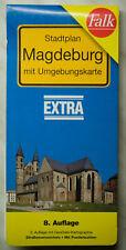 Falk Stadtplan Magdeburg + Umgebung - Extra - 8. Auflage - wie NEU