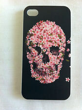 Beautiful Death Floral Skull Printed iPhone 4/4S Case iPhone 4s for