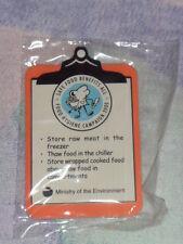 "Brand New ""Safe Food Benefits All"" fridge magnet *Free Postage"