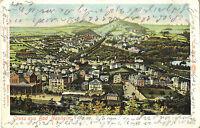 Bad Nauheim, Panorama, Gesamtansicht, Eisenbahn, Dampf-Lokomotive, Ak von 1901