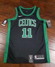 NIKE MENS NBA BOSTON CELTICS KYRIE IRVING #11 JERSEY Size Small 877198 014 Black