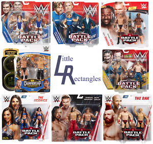 WWE Battle Pack & Championship Showdown Figures - Mattel - SHIPPING COMBINES