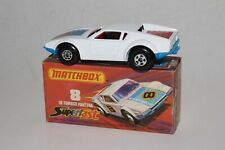MATCHBOX SUPERFAST #8 DE TOMASO PANTERA, SCARCE RED INT., EXCELLENT, BOXED