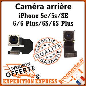 APPAREIL PHOTO CAMERA ARRIÈRE IPHONE 5C / 5S / SE / 6 / 6PLUS / 6S PLUS