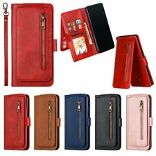 Flip Leather 9 Card slot Wallet Stand Phone Case For Samsung Galaxy S20 + Ultra