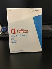 Microsoft Office Home and Business 2013 Full New Retail Boxed Version 1PC