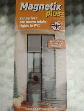 ZANZARIERA MAGNETICA PLUS TENDA CM 150X250 CALAMITA TELAIO RIGIDO PVC RIDUCIBILE