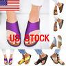 Soft Womens Comfy Platform Sandal Shoes Masasge Slipper Cortical US STOCK