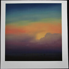 LAWRENCE COULSON Original Giclee, Across the Plain, Signed Numbered