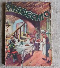 Le avventure di Pinocchio - C. Collodi - Tip. edit. Lucchi Milano 1959 Galbiati