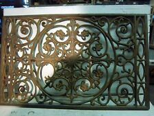 Large cast iron heat register grate vintage
