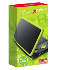 Nintendo 2DS LL Console System(Black x Lime) Region JAPAN