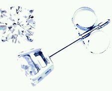 Orecchini Punto Luce in oro 18 Kt e diamanti naturali 0,06 ct prezzo imbattibile