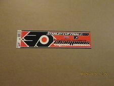 NHL Flyers 2010 Eastern Conf.Champions Bumper Sticker