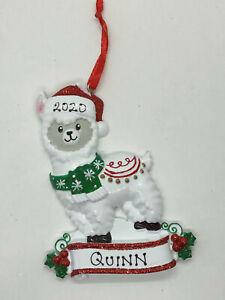 Personalised Christmas ornaments - Llama