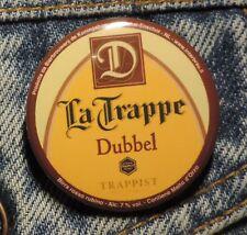 Pin Button Badge Ø38mm  La Trappe Trappist Dubbel (bière) 7