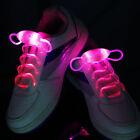 LED Shoelaces Flash Light Up Glow Stick Strap Shoe Laces Disco Party Hot 1Pair