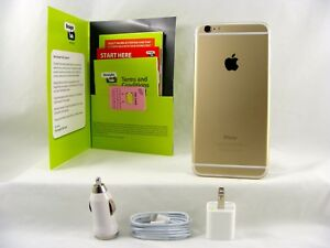 Apple iPhone 6 Plus - 16GB Gold (Straight Talk/Verizon 4G LTE Nano SIM Card)
