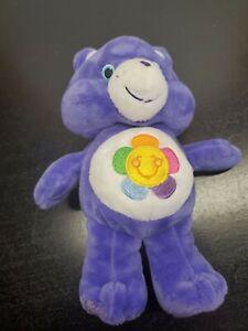 2014 Just Play Care Bears Harmony Bear Plush - 9 Inch