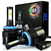 JDM ASTAR G1 8000LM H8 LED Car Fog/ Cornring Light/ DRL Bulbs Lamps Xenon White