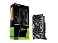 EVGA GeForce GTX 1660 SC ULTRA GAMING, 06G-P4-1067-KR, 6GB GDDR5, Dual Fan, Meta