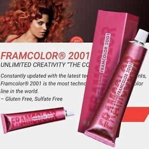 Framesi Fram color 2001( 3HR Dark Chestnut/Purple) 60 CC) Hair Color