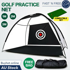 Golf Practice Net Hitting Nets Driving Netting Chipping Cage Training Aids 2M/3M