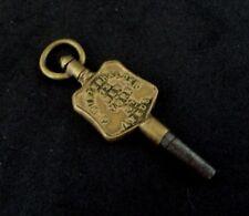 """Antique Montre de poche clé taille"""" 6' Publicité Leeds Winder (r1)"""