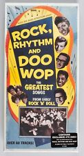 Rock Rhythm and Doo Wop 3 Cd Box Set with Bonus Disc New Sealed R2 78352