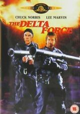 The Delta Force (1986 Chuck Norris) DVD - Plane is Hijacked Terrorist ACTION