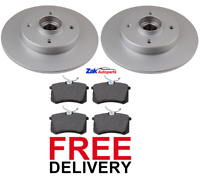 FOR CITROEN C3 PICASSO REAR BRAKE DISCS & PADS WITH FITTED WHEEL BEARING *NEW*