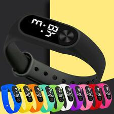 Child Boy Girl LED Sport Electronic Digital Wristwatch Watch For Kids Gift Chic
