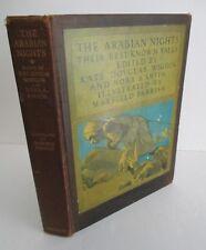 THE ARABIAN NIGHTS with Maxfield Parrish Illustrations, 1919