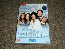 AT HOME WITH THE BRAITHWAITES : COMPLETE FIRST SERIES  1 st - DVD (FREE UK P&P)