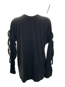 Mens Gothic Style Top By Spiral Clothing size medium