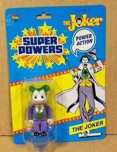 THE JOKER: SUPER POWERS BEARBRICK BE@ABRICK SDCC COMIC-CON EXCLUSIVE FIGURE