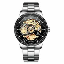 IK Colouring Gents Automatic Skeleton Watch  98226S-4