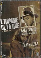 "DVD ""L'Homme de la rue   Gary Cooper    NEUF SOUS BLISTER"