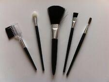 Pochette de 5 pinceaux maquillage miniatures * NEUF * poche/sac