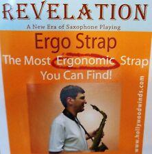 Revelation Ergo Strap - [Long] Neck Strap with [Locking Swivel Hook] *Black*