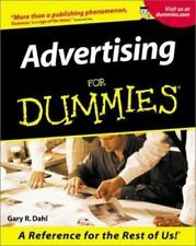 Advertising for Dummies BRAND NEW BOOK, JOB EMPLOY AGENCY AD MEDIA BUSINESS