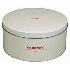 Cabanaz - Gebäckdose Vorratsdose Keksdose Dose Ø 20cm Vanille